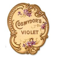 Cosmydors Violet Metal Sign  http://www.retroplanet.com/PROD/37053