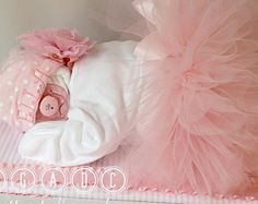 ballerina, tutu diapercake, Sleeping diaper babies, diaper cakes, baby shower, center piece, girl diaper baby, baby gifts, unique gifts,