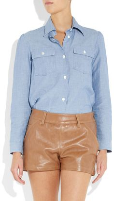the perfect APC Chambray shirt....i should have bought it when i had the chance