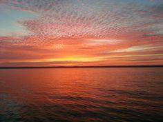Seneca Lake Sunrise, August 2013