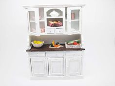 Miniature shabby chic sideboard by viliaminiature on Etsy, €26.00