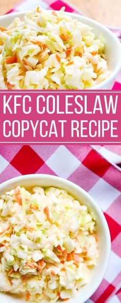 KFC Coleslaw Copycat Recipe - tokokelontongbusri.online