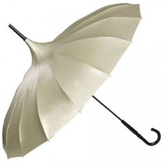 Luxurious BRONZE coloured Von Lilienfeld Pagoda Style Umbrella - http://www.loveumbrellas.co.uk/index.php?route=product/product&path=70&product_id=200