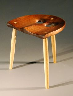 """The Owl Stool - """"doctor evaluated postural support, which eases both spine tension and sitting pressures. An aesthetic balance has been struck between beautiful form and healthy spinal support with this stool."""""""