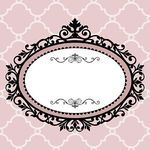 Decorative vintage frame - for logo