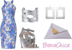 See How to Dress to Impress with New Post: Love Blooms !!! http://bravechica.blogspot.com/2013/06/grey-blooms.html @BraveChica #Fashion #Style #Trends