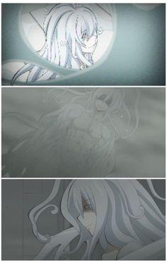 """Koro-sensei - """"Shinigami"""" ...white hair..."""