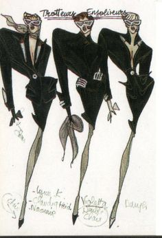 1989-90 - Thierry Mugler sketch