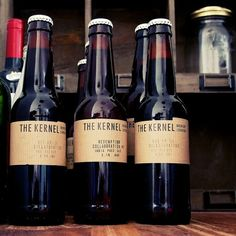 Kernel  Brewery (London, U.K.) make fantastic beers. Some fashioned after modern American styles. Some rebuilds of old English recipes. All, fresh and interesting. http://thekernelbrewery.com/