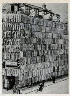 Распродажа мужских пальто, 1936 год, Копенгаген / Speleologov.Net - мир кейвинга