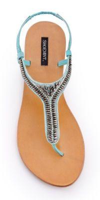 #Beaded #Summer #Sandals ♥