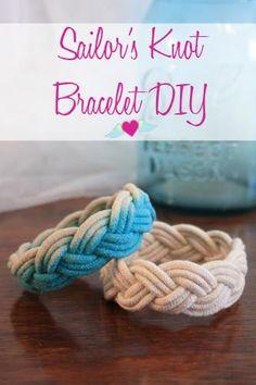 DIY Nautical Rope : Sailor's Knot Bracelet DIY