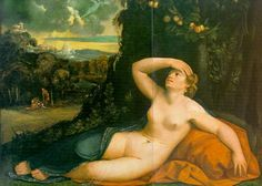 Venus Awakened by Cupid - Dosso Dossi