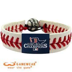 Boston Red Sox 2013 World Series Champions Baseball Seam Bracelet - MLB.com Shop