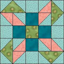Block of Day  Brighton Beach Download now at our web site blockoftheday.com  The pattern may be downloaded until:Wednesday, September 30, 2015.