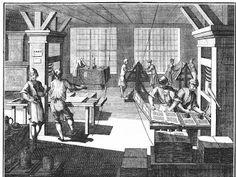 Aproximadamente antes de 1783, se introdujo la imprenta en La Española