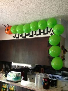 Bug party deco
