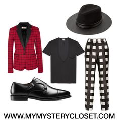 """""""This look represents elegance, style, and sophistication"""" by mymysterycloset on Polyvore featuring Rochas, MICHAEL Michael Kors, Allen Edmonds, MANGO and Yves Saint Laurent"""