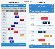 Going Flat: Apple iOS 7 Way