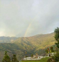Village , Rainbow, Uttarakhand, Rudraprag.