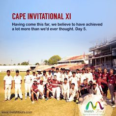 DAY 5- CAPE INVITATIONAL XI  A good experience of playing in the stadium and using the players dressing room with team balcony but unfortunately lost the second T20 as well back to back. Chasing a decent total of 115, Cape Invitational batting struggled against the spin attack and lost by 17 runs. But they all look happy and enjoyed playing here, may be the highlight of their cricket experience on this tour. #melshtours, #melshsportstours, #sportstoursindia, #crickettoursindia…