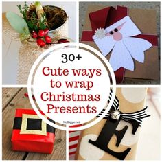 Christmas wrapping ideas - 30 Christmas Wrapping Ideas La mejor imagen sobre healthy recipes para tu gusto Estás buscando al - Teen Christmas Gifts, Christmas Hamper, Homemade Christmas Gifts, Christmas Gift Wrapping, All Things Christmas, Christmas Presents, Homemade Gifts, Holiday Fun, Christmas Crafts