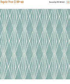 SHIPS FAST Spa Blue Upholstery Fabric, Geometric Design Fabric, Home Decor Aqua, Rain Blue Drapery Fabric, Furniture Material - by the yard by FabricSupplyCo on Etsy https://www.etsy.com/uk/listing/398734075/ships-fast-spa-blue-upholstery-fabric