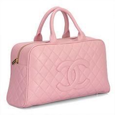 Chanel Lambskin Leather Cambon Boston Bag