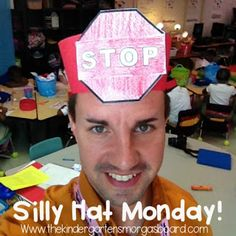 Silly Hats reinforce letter sounds!