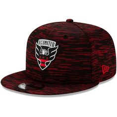 Men's New Era Black D. United On-Field Collection Snapback Adjustable Hat All Red Nike Shoes, Red Dc, Autumn Fashion Casual, Hats For Men, Caps Hats, Snapback, Baseball Hats, The Unit, Collection