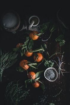 DIY Gifts: Satsuma Herb de Provence Salt + Saffron Lavender Honey // Kinfolk Herbal Infusion Workshop TN | Flickr - Photo Sharing!