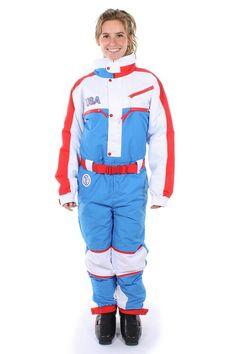 cafbdcbd77 Women s USA Ski Suit Suits Show