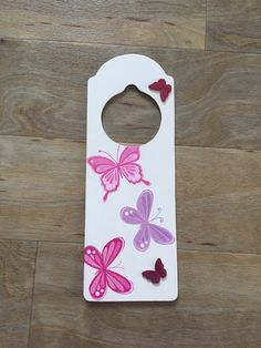 Door sign - Butterflies £7.49