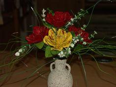 Blumen aus Eierkarton Wolfgang