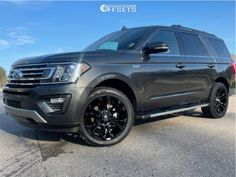 2021 Ford Expedition - 22x10 10mm - Fuel Vapor - Stock Suspension - 285/45R22 Ford Expedition, Gallery, Roof Rack, Ford