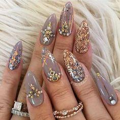 Nails gel, we adopt or not? - My Nails Mauve Nails, Damaged Nails, Sexy Nails, Chrome Nails, Healthy Nails, Nail Shop, Artificial Nails, Nail Decorations, Gorgeous Nails