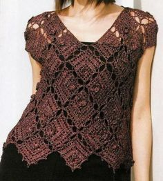 10 Fascinating Ideas to Create Crochet Patterns on Your Own ... 5-crochet-sweater └▶ └▶ http://www.pouted.com/?p=29838