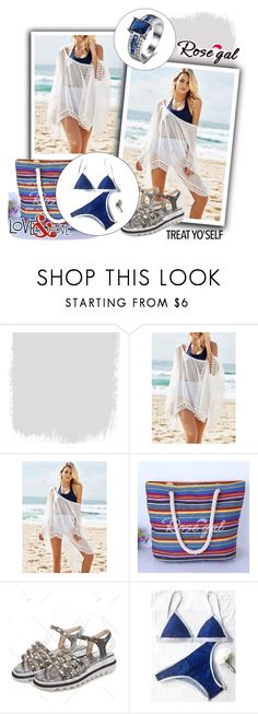 """rosegal.com  25"" by lana-97 ❤ liked on Polyvore featuring Summer, polyvorefashion and rosegal"