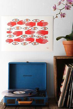 Katie Driscoll Barrier Spell Art Print - Urban Outfitters