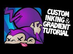 Adobe Illustrator Tutorial: Custom Inking and Gradients - YouTube