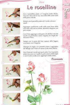 Lezioni di Acquerello: Le Rose