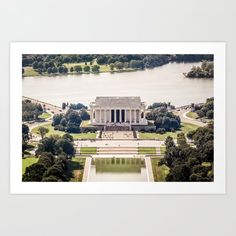 Lincoln Memorial Art Print by