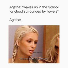 The School For Good And Evil, The New School, School Fun, Greek Memes, Victoria Aveyard, Holly Black, Dear Sister, Book Memes, Book Fandoms