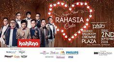 Konser Kahitna - Peringati Usia ke-30, Yovie CS Gelar Super Show Rahasia Cinta