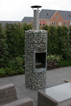 Gabion fire feature (roughly 1000euro) by bleu.