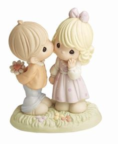 "Precious Moments ""Your Love Makes My Heart Blossom"" Figurine"