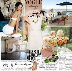 """""""Spring Air"""" by lacybow ❤ liked on Polyvore"""