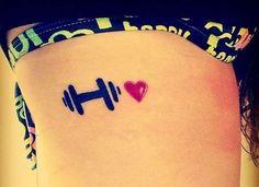 Bike, musculação, corrida... Independentemente do seu esporte preferido, existe uma marca que é a sua cara - e que expressa melhor o seu estilo de vida. No site, você confere uma seleção de tatuagens fitness para se inspirar❤️#atitudeboaforma #tatuagem #fitness