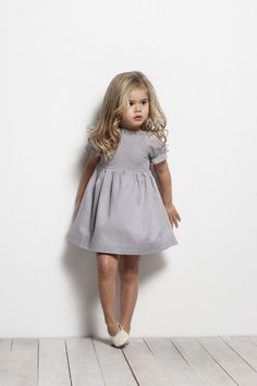 Ideas for dress cute kids Little Girl Outfits, Little Girl Fashion, Toddler Fashion, Fashion Kids, Cute Kids Outfits, Simple Outfits, Little Fashionista, Stylish Kids, Stylish Baby