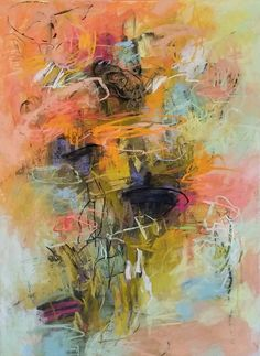 Ascending 30x22 pastel on paper Debora Stewart